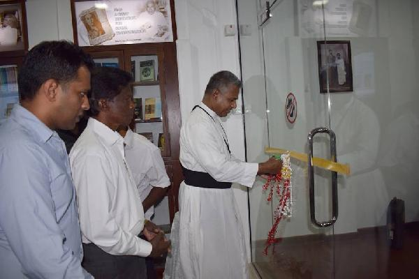 Rev. Fr. Tissa Balasuriya Memorial Museum and the Library Opend